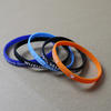 Silicone wristbands 1/4 inch wide image