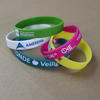 "Silicone wristbands 1/2"" wide image"