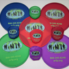 Folding Frisbee 25cm with pouch and your bespoke print or logo image