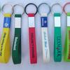 Silicone key chain with aluminium plate image