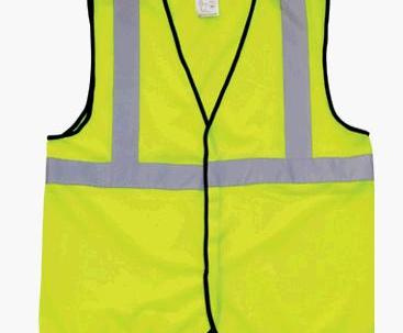 Reflective sports safety vest image