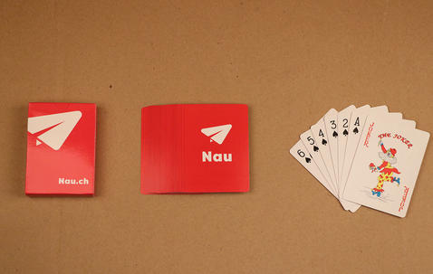 Poker size playing cards image