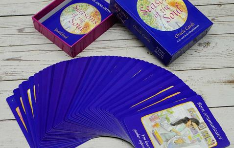 Tarot size playing cards with your custom print image