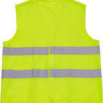 Basic safety jacket for extra visibility image