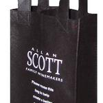 Custom printed PP non-woven wine bag for 2 bottles  image