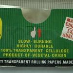Extra long transparent rolling paper in custom branded packaging (110x36mm) image