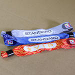 Woven festival wristbands 20mm wide image